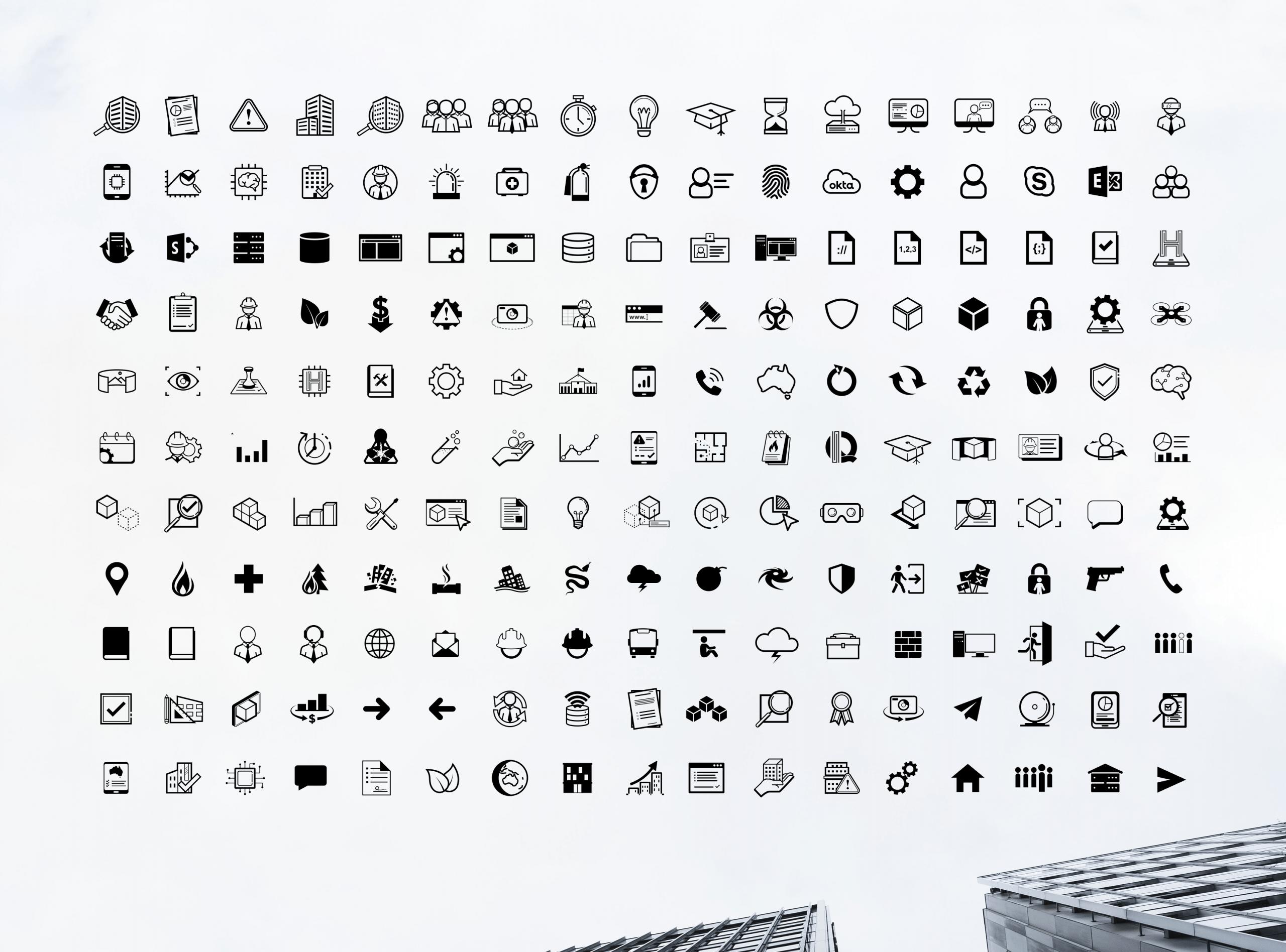 Hendry icons