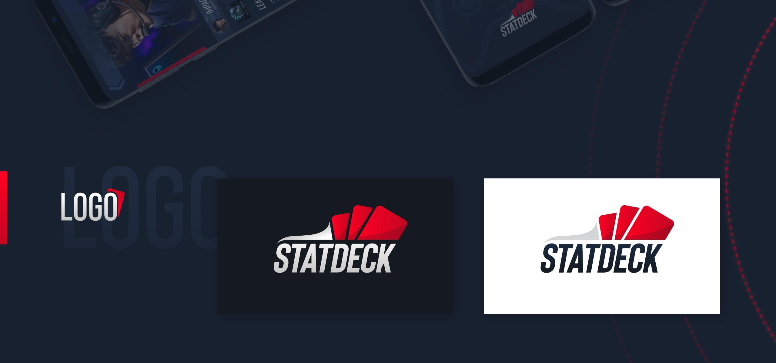 Statdeck screens - logo