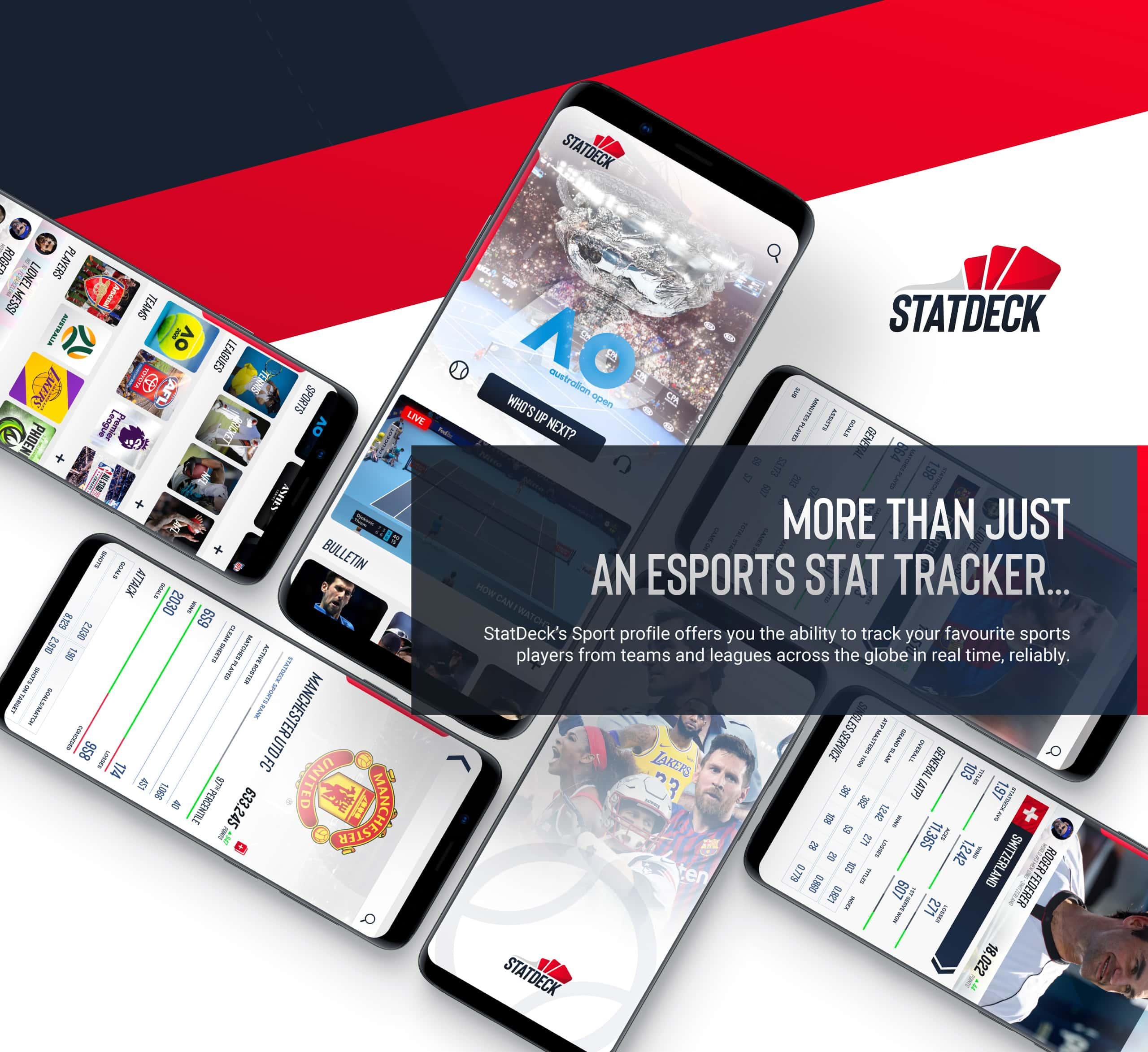 Statdeck screens - Sports Overview